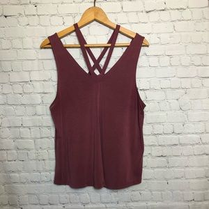 American Eagle soft and sexy strapped tank